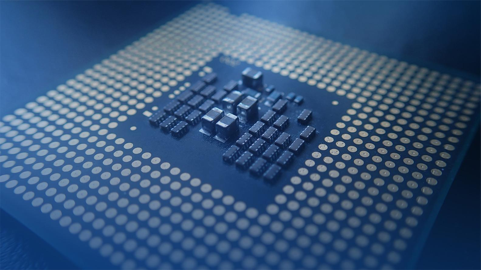 background image with microchip