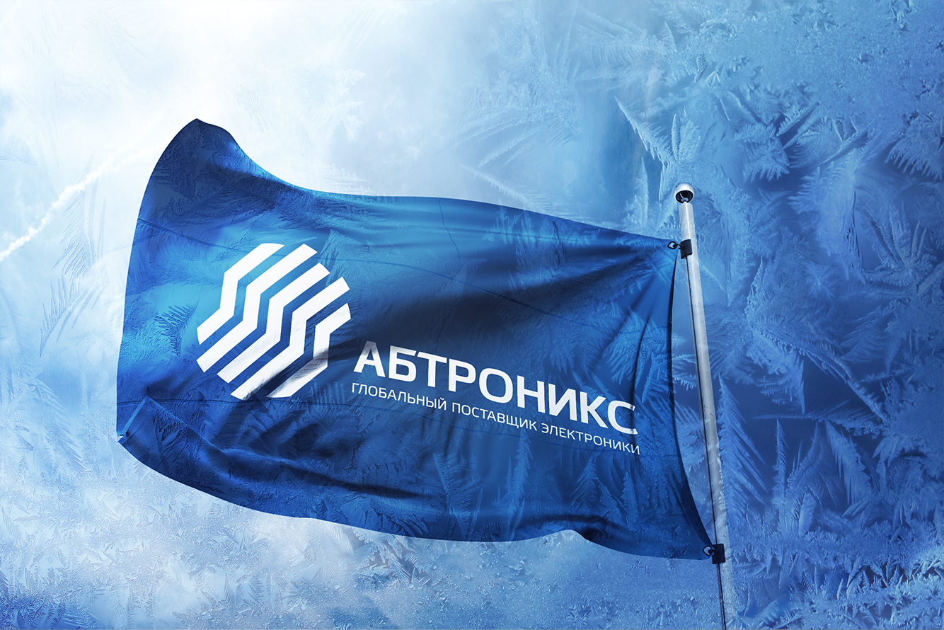 background image with abtronics llc company flag